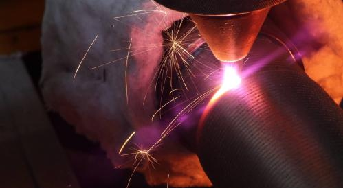 Laser cladding of metals