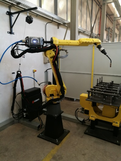 Laser welding machine FANUC