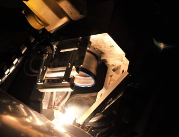 Laser welding with scanning head